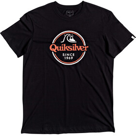 Quiksilver Words Remain T-shirt Heren, black